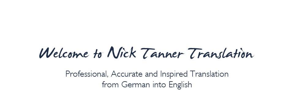 Nick Tanner Translation